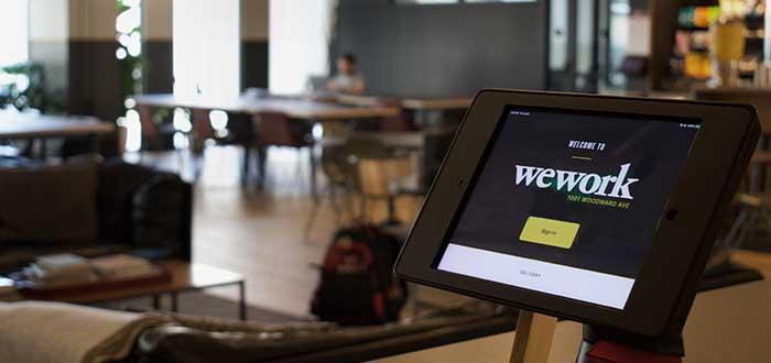 Espacio de trabajo flexible de WeWork