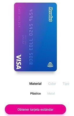 solicitar tarjeta revolut sin coste
