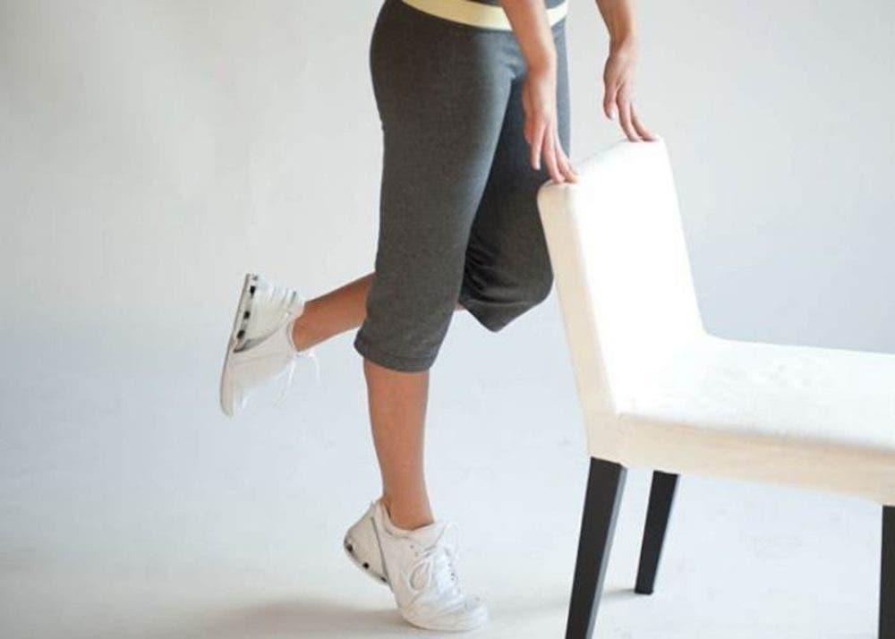 elevaciones de talones de pie