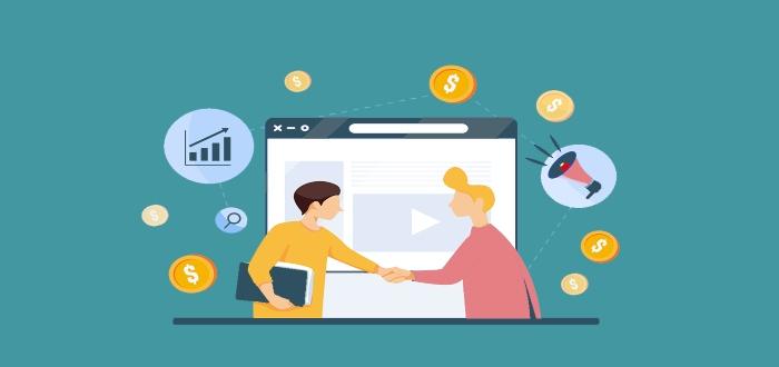 Marketing de afiliados para hacer dinero on-line